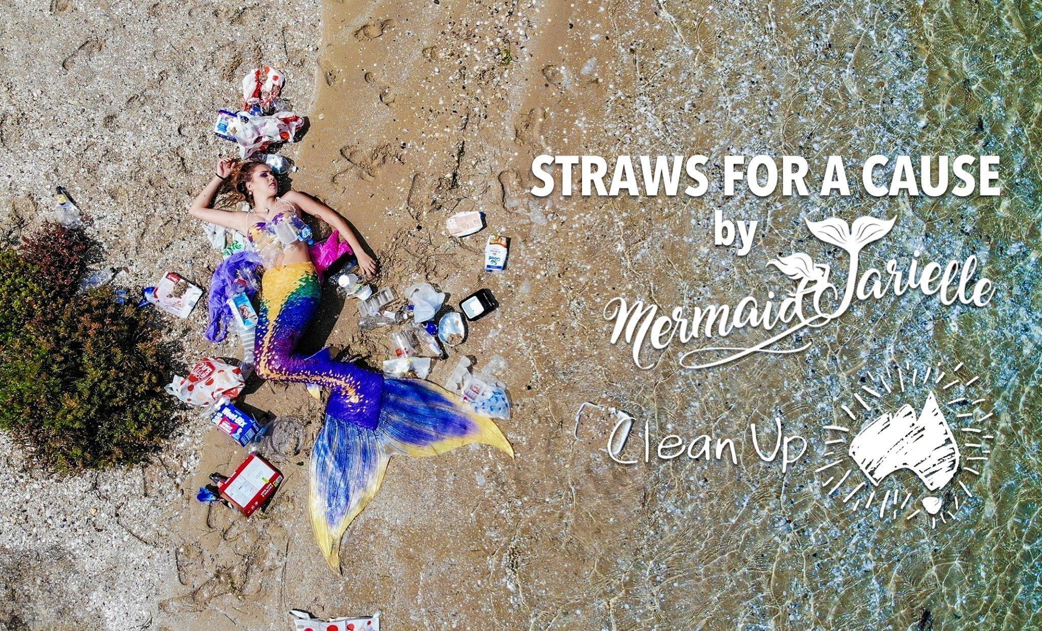 Help a real mermaid save the ocean!