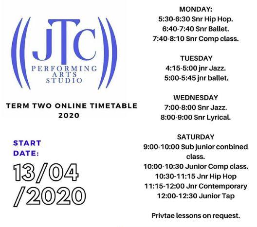 JTC Performing Arts Studio, Dance School