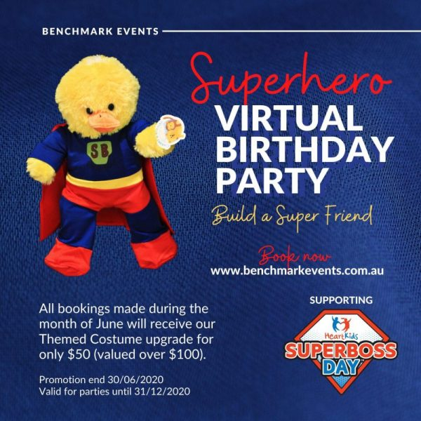 Benchmark Events – Virtual Birthday Parties