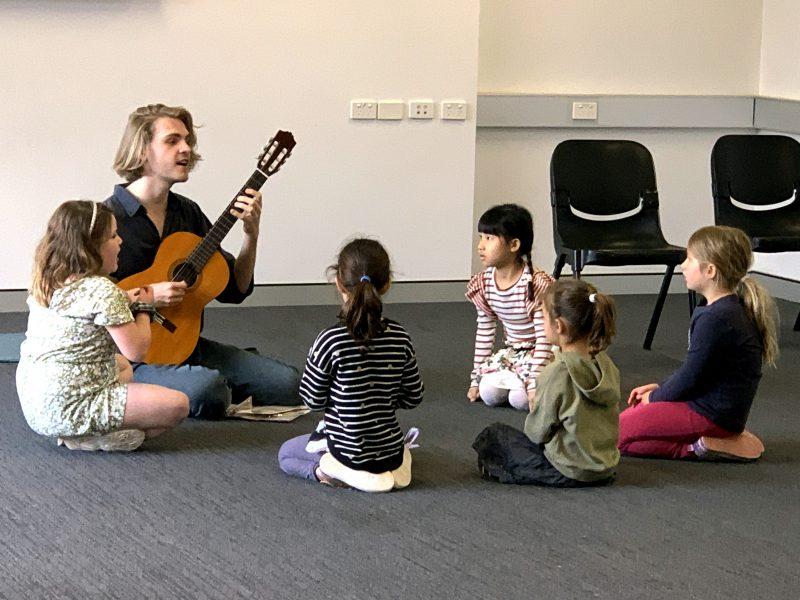 Singing • Guitar • Ukulele Classes for Kids