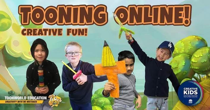 Tooning Online with Creative Kids